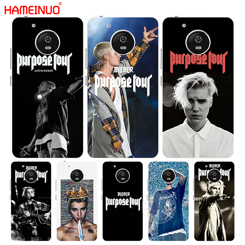 Half-wrapped Case Energetic Hameinuo Justin Bieber Purpose Tour Case Cover For Motorola Moto G6 G5 G5s G4 Play Plus Zuk Z2 Pro Curing Cough And Facilitating Expectoration And Relieving Hoarseness