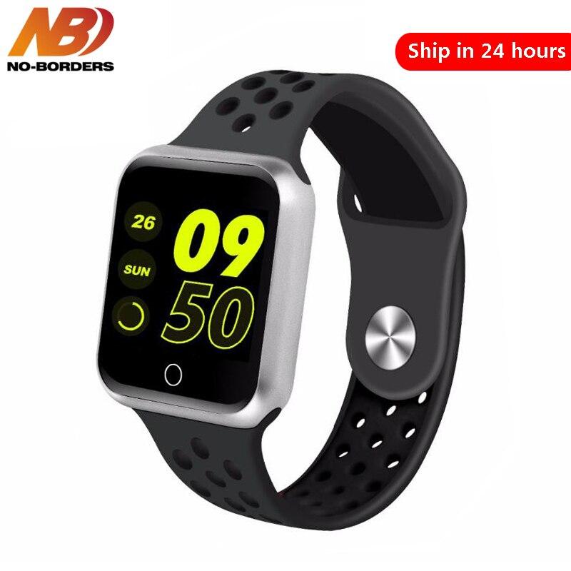 Relógio inteligente Relógios IP67 S226 Freqüência Cardíaca Pressão Arterial Do Bluetooth Smartwatch À Prova D' Água para A Apple Android Telefone PK IWO 8 Relógio
