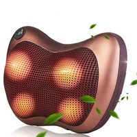 2017 Multifunction Home Car Electric Body Massager Pillow Infrared Acupressure Shiatsu Neck Pain Relief Massage Machine