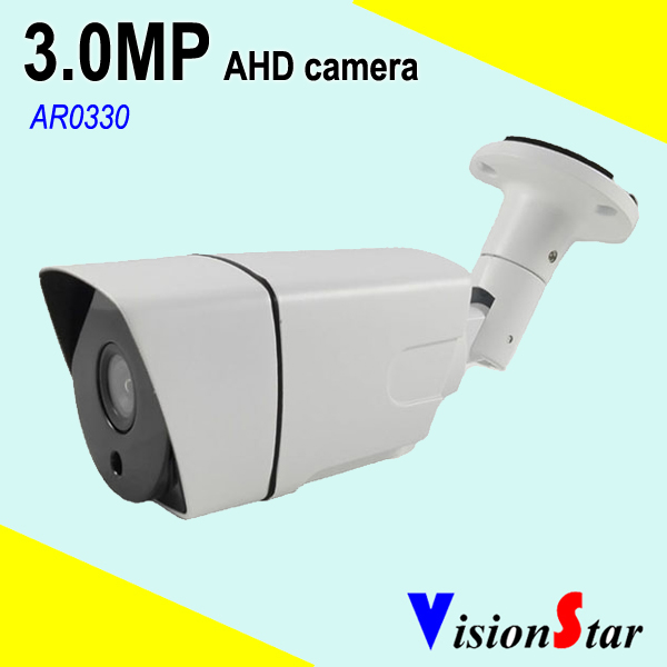 Outdoor Bullet AHD Camera 3MP HD Resolution CCTV Day Night Vision Security System bullet camera tube camera headset holder with varied size in diameter