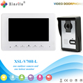 Xinsilu V70H-L Doorbell Camera With 4.3inch Door Viewer Indoor Monitor Out Door Phone Bell Video Photo IR Voice Unlock