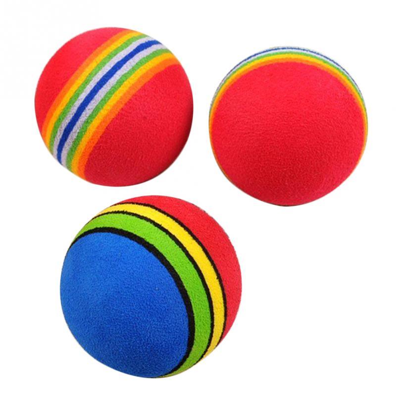 Toys For Balls : Aliexpress buy kids funny toy balls cm rainbow