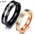 Мода titanium стальные кольца пара его и ее обещание кольцо наборы союзы о браке любовь кольцо анель de pedra цены в евро