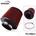 """Pivote - filtro de aire 3 """" 76 mm aire de admisión filtro altura cono de alto flujo de entrada de aire frío rendimiento TK-14084-2"""