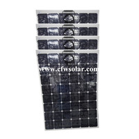 Solar Power Charger Solar Home System 600watts 4 150W Of Sun Power Flexible Solar Panel Rechargeable