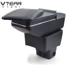 Vtear для Mazda 2/Mazda2/демио подлокотник коробка центральный магазин коробка содержание подкладке подлокотник стакан для хранения Автомобильный держатель-Аксессуары Укладка