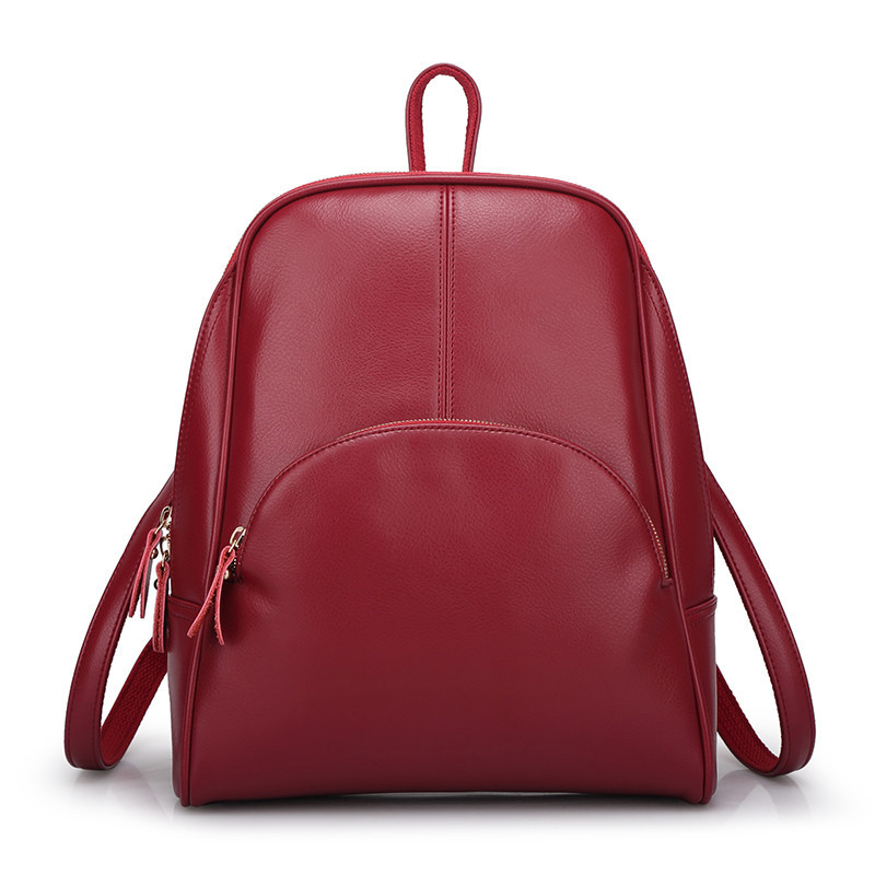 2017 new Cow Leather Women Backpack Women Genuine Leather Bag Mochila Feminina School Bags for Teenagers Female Women Bag miwind new backpack women school bags for teenagers mochila feminina women bag free shipping leather bags women leather backpack