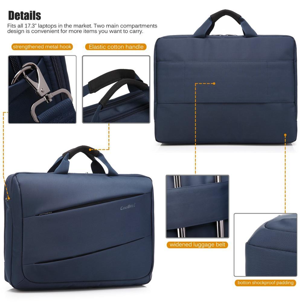 Fashion Laptop Bag 17 3 inch Notebook Bag For Macbook Pro 15 Waterproof Laptop Backpack Men