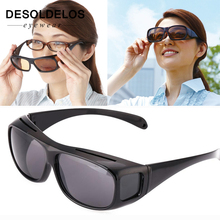 Night Vision Driver Goggles Unisex HD Vision Sun Glasses Car Driving Glasses UV Protection Polarized Sunglasses Eyewear G121 цена в Москве и Питере