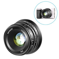 Neewer 25mm f/1.8 Manual Focus Prime Fixed Lens for Sony E Mount Digital Mirrorless Cameras A6500, A6300, A6100, A5000, A5100,