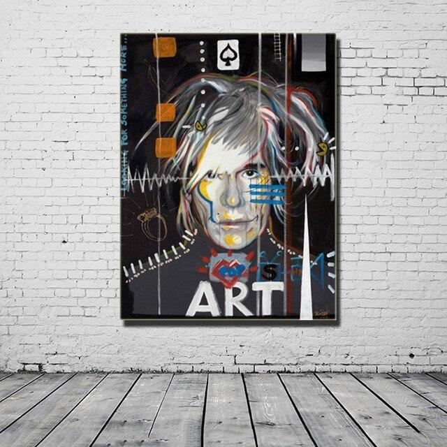 Ben noto Pittura A Olio di Vendita calda Parete Pop Art Andy Warhol Parete  PS09