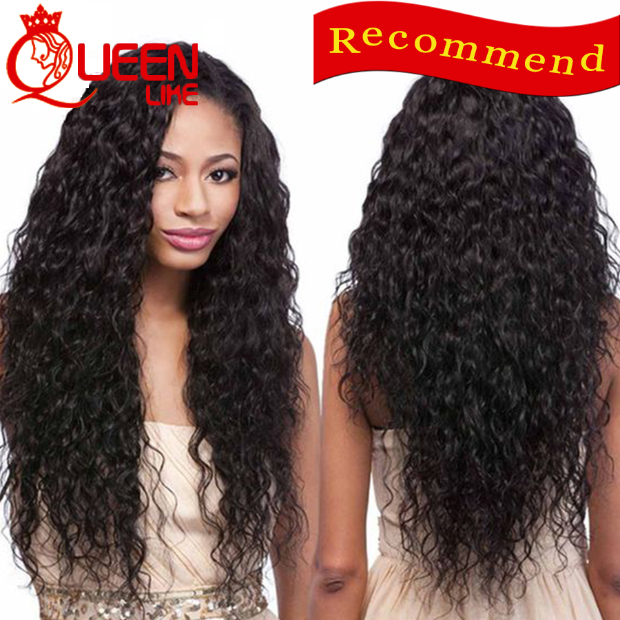 Queen Like Hair Company Peruvian Virgin Hair Water Wave 4 pcs Peruvian Natural Wave Wet and Wavy Peruvian Water Wave Virgin Hair
