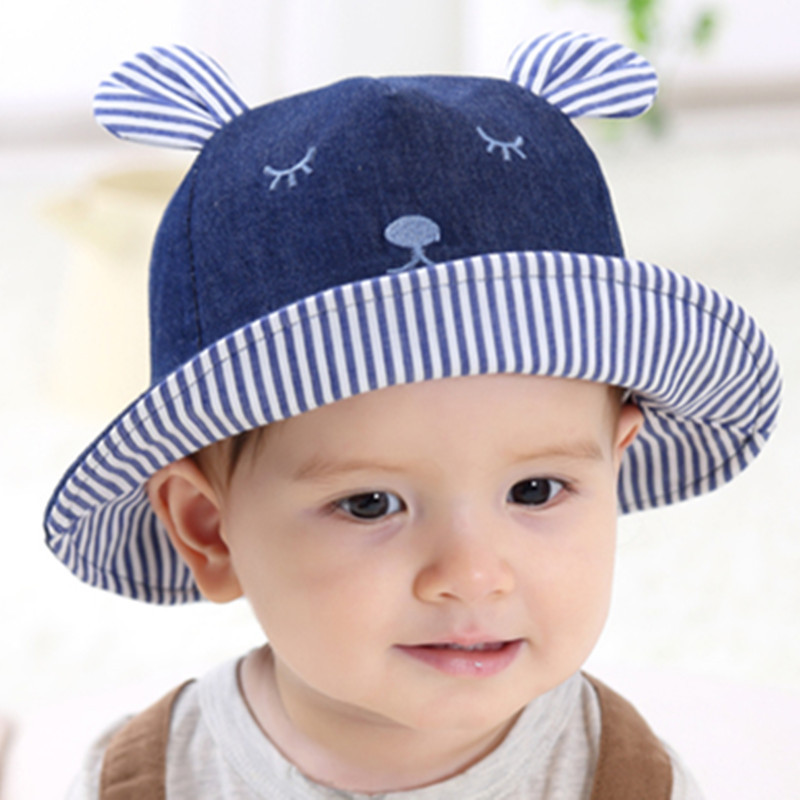 Wristwatch Bands Baby Summer Cap Bucket Hats For Girls Rabbit Ears Cap For Children Sun Hat Caps Boy Girl Baby Hat 2018 New Fashion