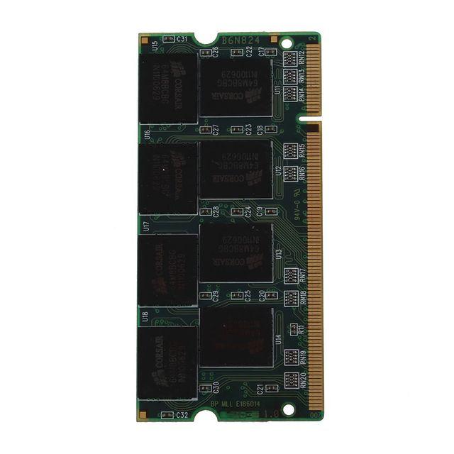DDR1 1 ГБ ОЗУ PC2700 200Pin Sodimm память ноутбука DDR 1 Гб, 333 МГц NON-ECC ПК DIMM 2