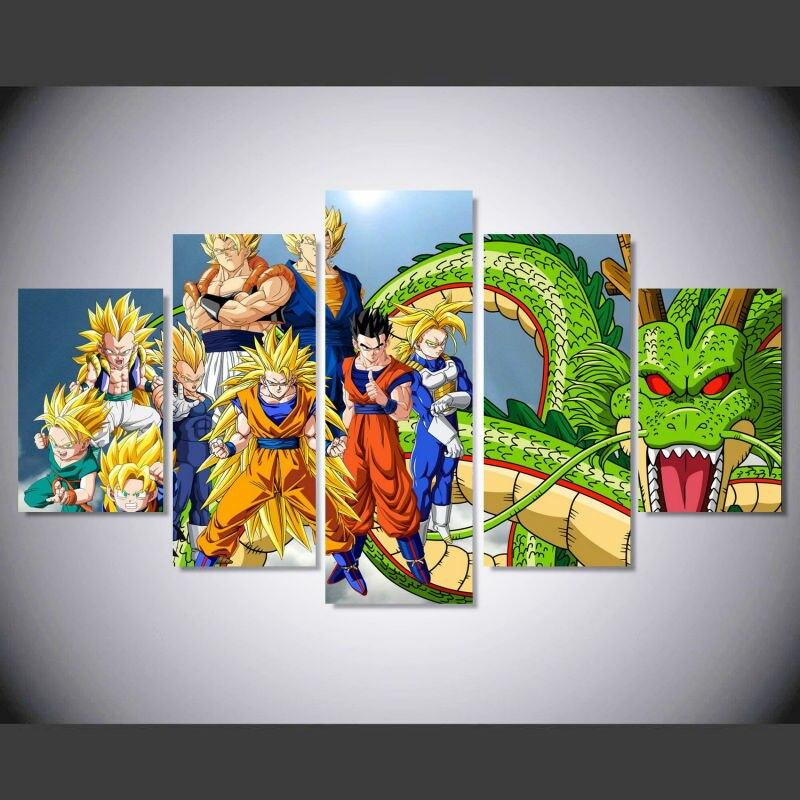 Achetez en gros image balls en ligne des grossistes for Decoration murale dragon ball z