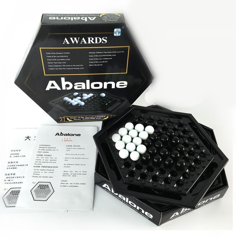 Abalone Table games strategy puzzle chess parent child desktop games puzzle chess gatherin board Puzzle Desktop