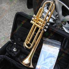 Brand Trumpet Bb YTR-4335G Gold Plated Surface Trumpete Small Brass Professional for Students Musical Instrument Trompeta