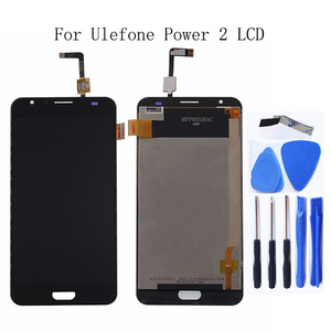 "Image 1 - 5.5"" for Ulefone Power 2 LCD Touch Glass Panel Digitizer Kit for Ulefone Power 2 LCD Smartphone Repair Kit + Free shipping"