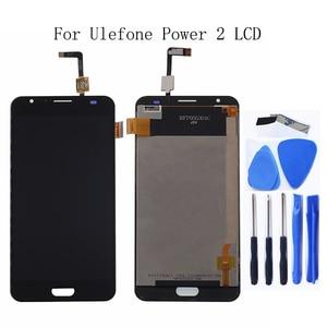 "Image 1 - 5.5 ""voor Ulefone Power 2 LCD Touch Glas Panel Digitizer Kit voor Ulefone Power 2 LCD Smartphone Reparatie Kit + gratis verzending"