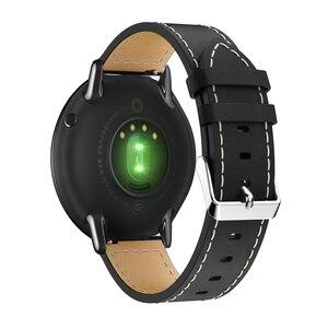 Image 3 - Dành Cho Original Xiaomi Huami AMAZFIT Pace Dây Đồng Hồ Da Thật Chính Hãng Da Thay Thế Smart Watch Ban Nhạc Cho Amazfit GTR 47 Mm