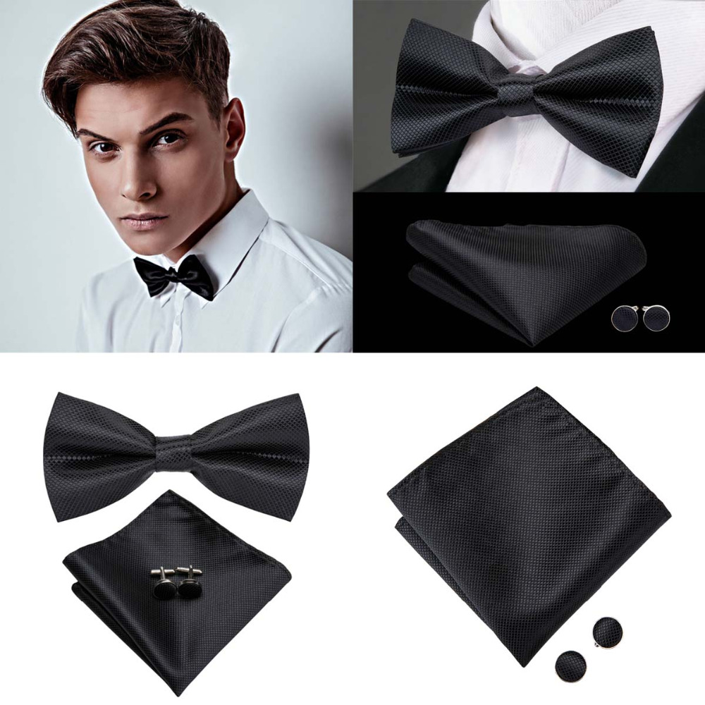 Self-Tie Purple//Gold Stripes Adjustable Men/'s Bow Tie