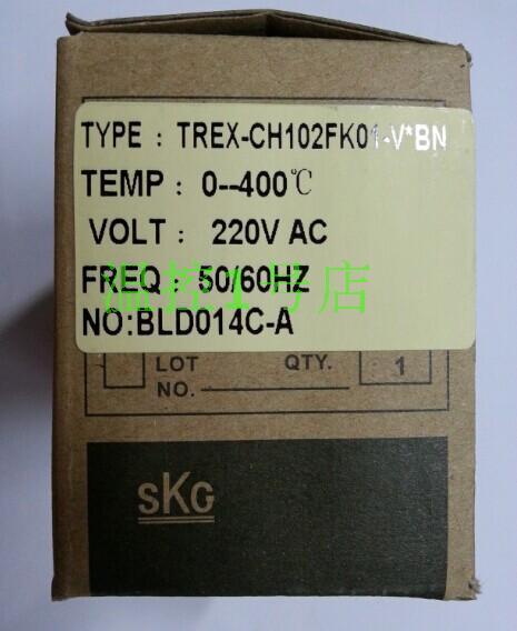 Genuine SKG / CH102 high-precision temperature controller shelf TREX-CH102fk01-v-BN spot for genuine security  цены