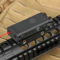 Tactical PEQ 10 Laser Flashlight Weapon Light For Rifle Scope Gun Hunting OS20 0045
