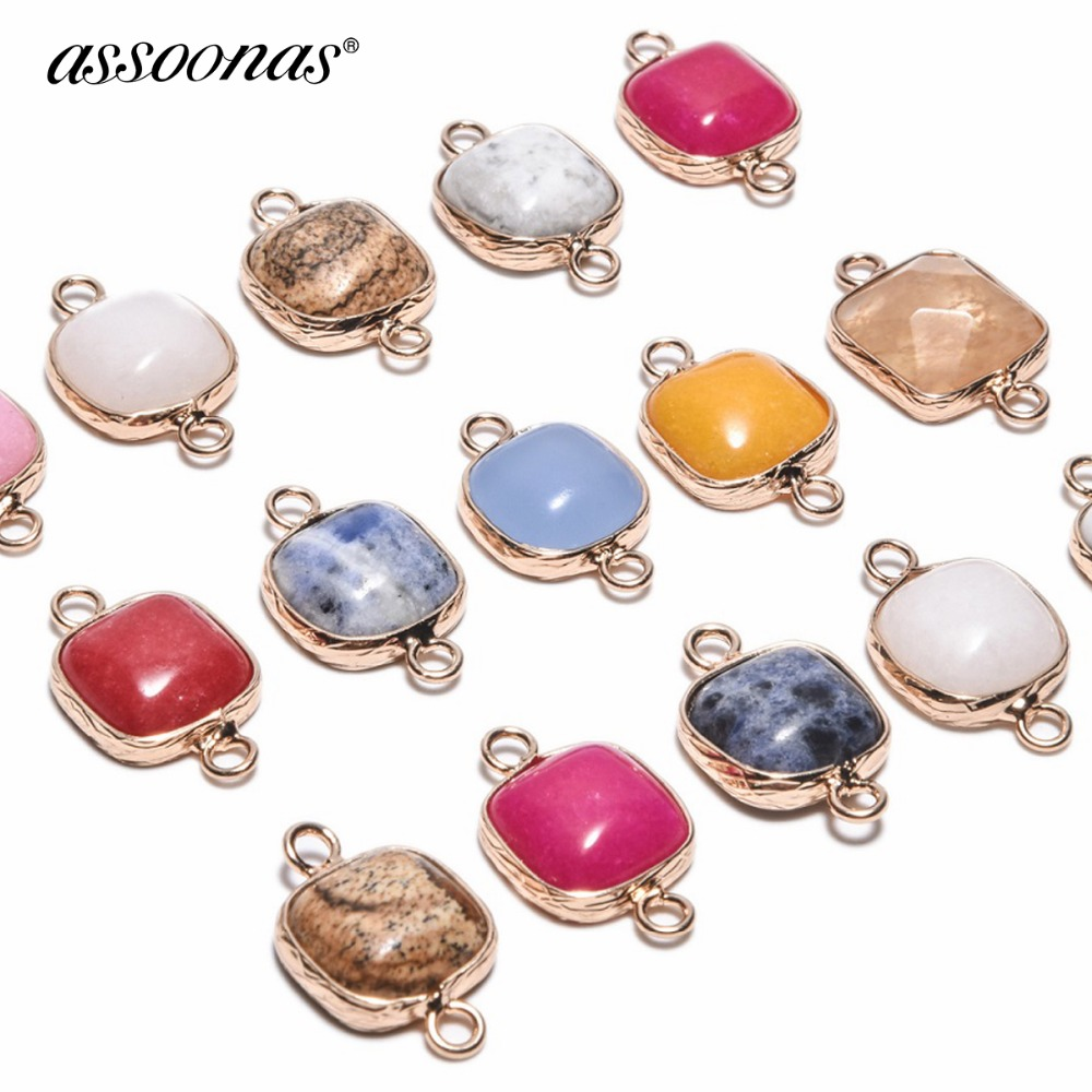 Assoonas M101/jewelry Accessories/jewelry Findings/accessory Parts/pendant Accessories/diy Jewelry/natural Stone/charms