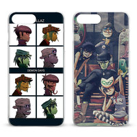 Gorillaz Fashion Coque Mobile Phone Case Cover Shell Bags For Apple iPhone 8 7 7s Plus 6S 6 Plus 5 5S SE 4S 4