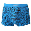 Sexy Mens Bamboo Boxers Soft Breathable Letters Print Sexy Male Panties Underpants Cueca Boxers Man Homme Shorts
