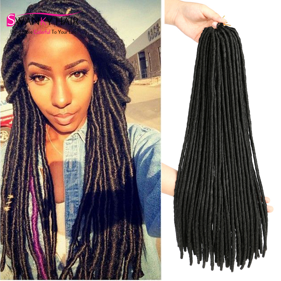 Swanky Store Faux Locs Crochet Hair Freetress Crochet Braid