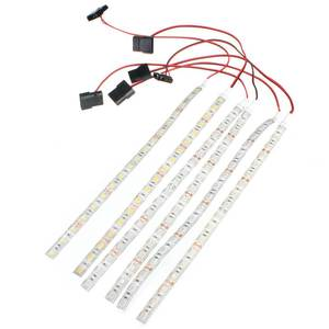 30CM 18 LED Strip Light 5050 SMD PC Computer Case Waterproof Flexible Strip Tape Light DC12V Red Blue Green Yellow Warm White
