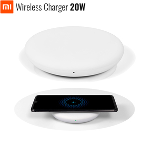 Image 1 - オリジナル xiaomi ワイヤレス充電器 20 ワット最大 mi 9 (20 ワット) ミックス 2 s/3 (10 ワット) qi epp 互換携帯電話 (5 ワット) 複数の安全