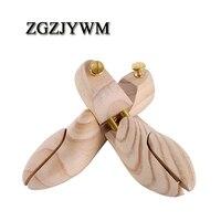 ZGZJYWM мужские и женские держатели для голенищ обуви двойная трубка Регулируемая Новая Зеландия сосновая деревянная колодка дерево