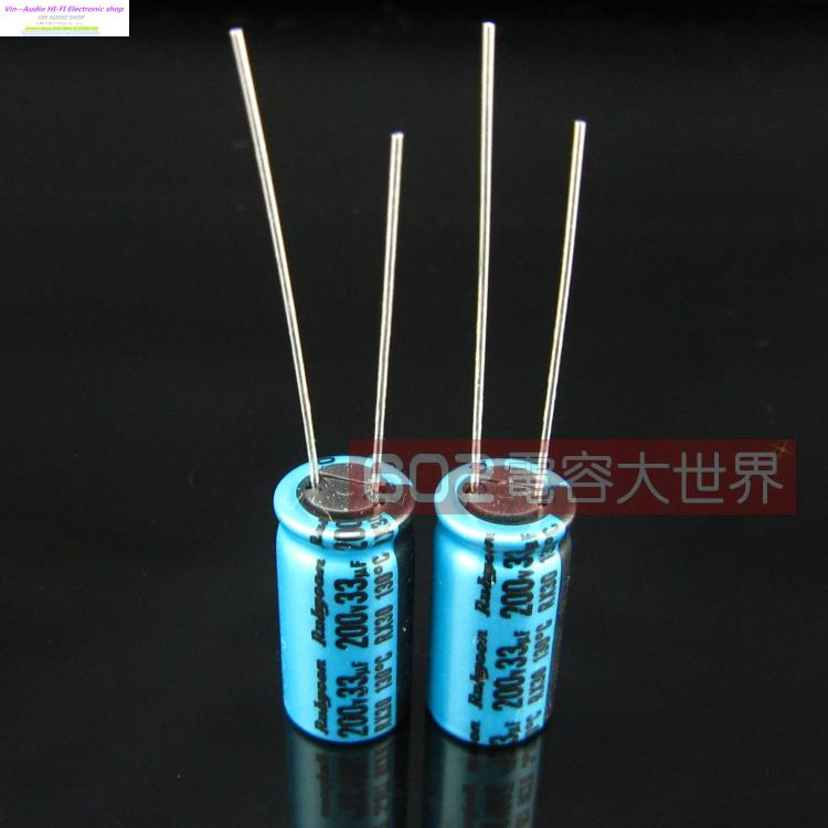 35V10000UF 22*40mm 10000UF35V 10PCS Electrolytic Capacitor Rubycon size