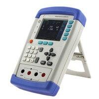 Высокое качество Тип мини ручной микро ом метр 0.1 м Ом 200 Ом AC МОМ Тестер Цифровой Батарея внутренний Измерители сопротивления