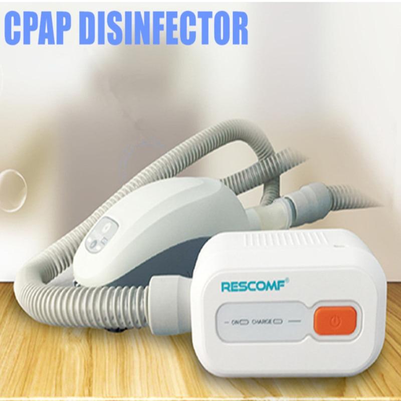 Négative-ion Rechargeable Batterie Ventilateur Stérilisateur CPAP APAP BPAP Désinfecteur pour le Visage Masque L'apnée Du Sommeil SAHOS SAOS