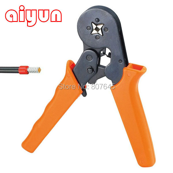 6-4 MINI-TYPE SELF-ADJUSTABLE CRIMPING PLIER 0.25-6mm terminals crimping tools WIRE END-SLEEVE PLIERS cable  цены