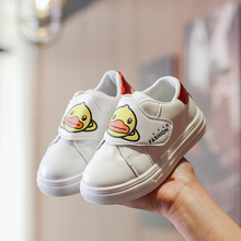 Spring Autumn Little Yellow Duck Baby Shoes for Boys Girls Soft Bottom Sport Sneakers Kids First Walkers