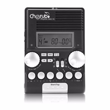 Cherub WRW-106 Multifunctional Drum Special Electronic Metronome Sound Rhythm Device Drummer Musical Instruments Accessories NEW