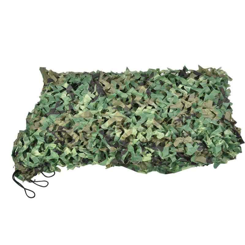 Camping Camouflage filet 2X3M 3X5M 1.5X5M 1.5X7M 4M X 5M forêt Jungle Camouflage filet chasse tir pêche abri cacher filet