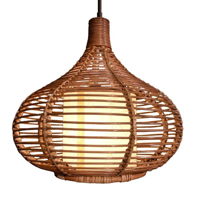 rattan pendant lighting. New Modern Rattan Pendant Light Study Dining Room Lamp Southeast Asia Stylish Restaurant Pedant Lighting T