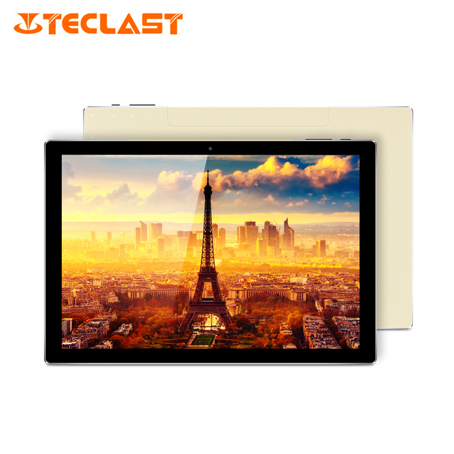"Teclast Tbook 10 s Windows 10 + Android 5.1 Intel Cherry Trail Z8350 Quad Core 4G RAM + 64G ROM 1920*1200 IPS 10.1 ""2 trong 1 Tablet PC"
