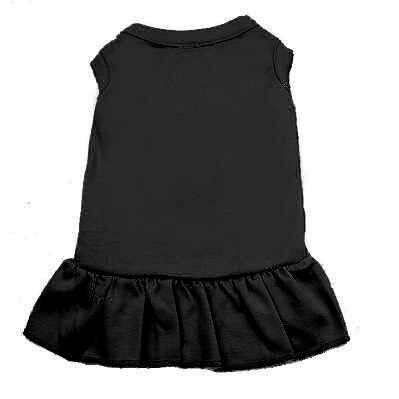Мягкий хлопок полиэстер пустой сплошной собака платье юбка летняя одежда для собак для маленьких и крупных собак кошек