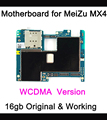 Work test  before shipping original Motherboard For meizu mx4 16gb motherboard Main board WCDMA  version With  Chip Logic Board