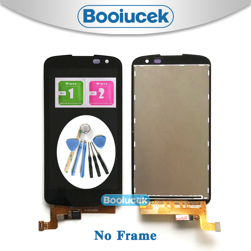 High Quality 4.5'' For <font><b>LG</b></font> K3 2016 K120 <font><b>K100</b></font> LS450 LCD Display Screen With Touch Screen Digitizer Assembly + Tool image