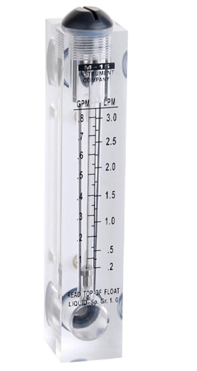 ФОТО without control valve LZM-15(0.1-0.8GPM(0.2-3LPM) flowmeter(flow meter) lzm15 panel/Liquid flowmeters Tools Measurement Analysis
