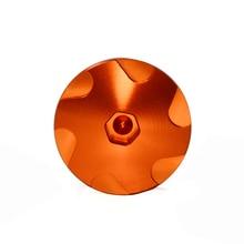 BJGLOBAL CNC Orange Motorcycle Aluminum Car Racing Engine Cover Camshaft Oil Plug For KTM DUKE 125/200/390 2013-2017