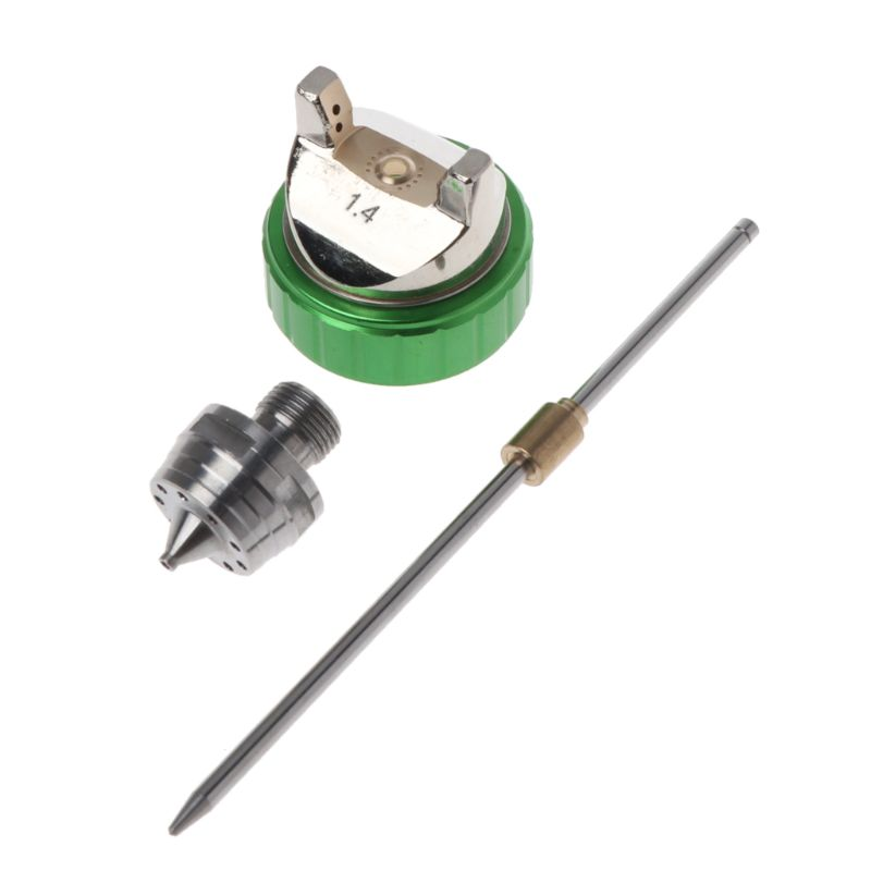 2.0mm/1.4mm Nozzle Kit Set Replacement Part For HVLP Spray Gun H-827 Han Pneumatic Ejection Paint  2.0mm/1.4mm Nozzle Kit Set Replacement Part For HVLP Spray Gun H-827 Han Pneumatic Ejection Paint