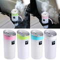 1 PCS 300 ML Ultrasonic USB Umidificador de Ar Do Carro Ambientador Purificador de Óleo Essencial de Aromaterapia Aroma Difusor Maker Mist Perfume